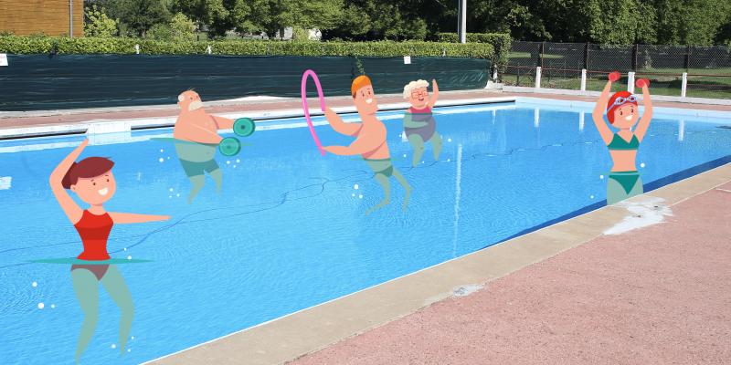 aquagym cours natation grand cubzaguais